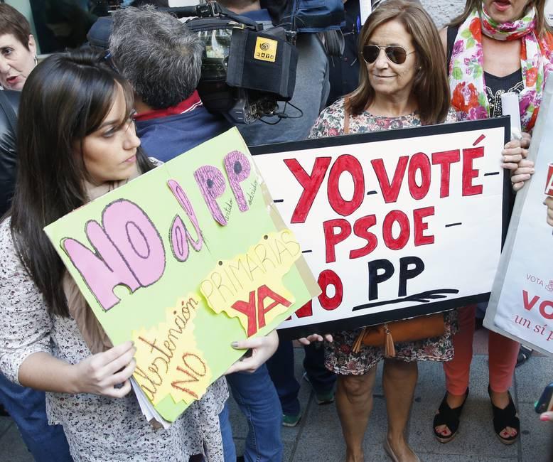 Entre el no y el quizás: el PSOE en crisis