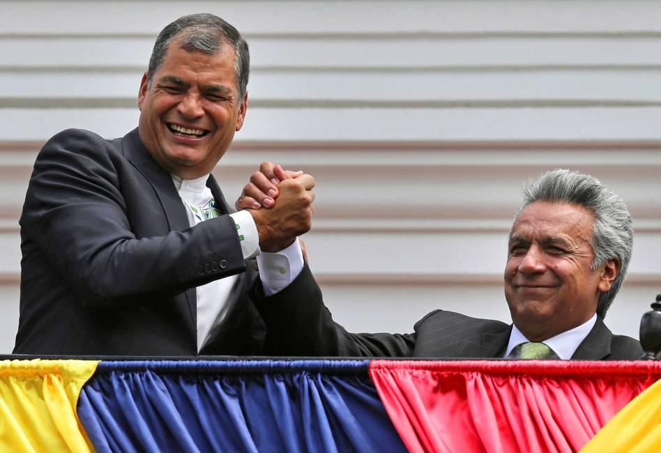 Correa y Moreno: muere un amor