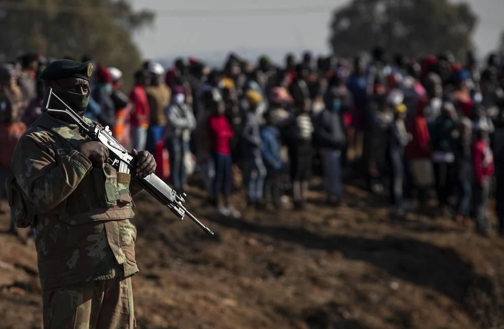 La crisis de una Sudáfrica que se rebela