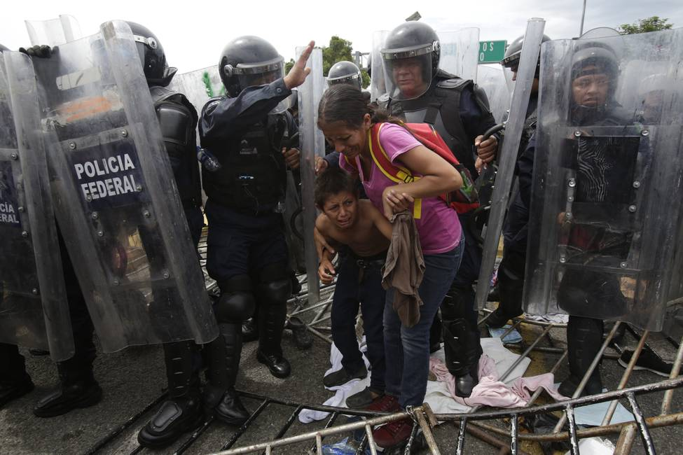 Centroamérica huye de sí misma