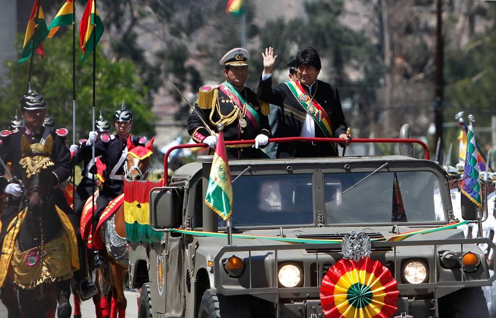 «Patria o muerte. Venceremos»   El orden castrense de Evo Morales