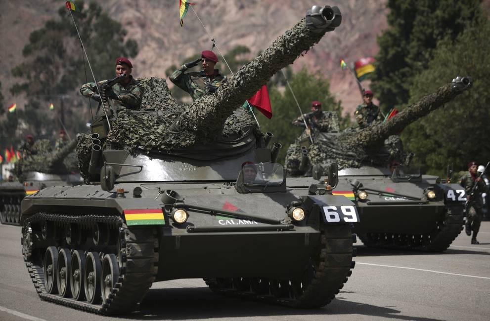 Los militares antes del golpe  Radiografía de las Fuerzas Armadas en Bolivia