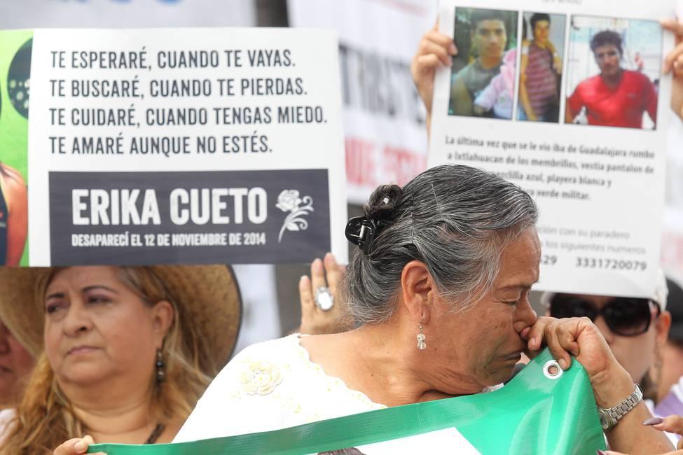 Las madres de desaparecidos