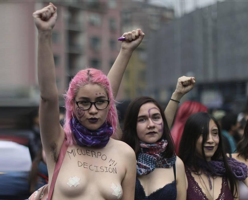 Chile: una ola violeta contra el conservadurismo   El nuevo movimiento feminista en Chile