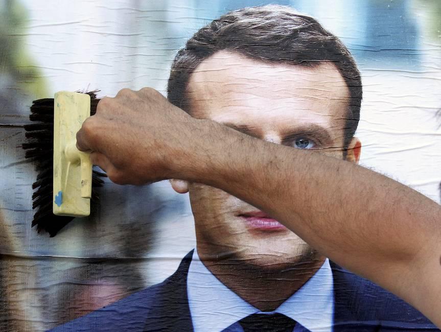 La peligrosa apuesta electoral de Emmanuel Macron