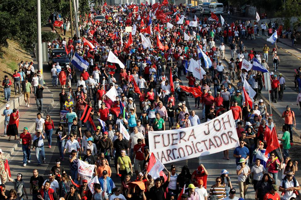 Honduras resiste en las calles