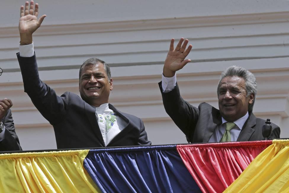 Historia de un divorcio  Ecuador entre Rafael Correa y Lenin Moreno