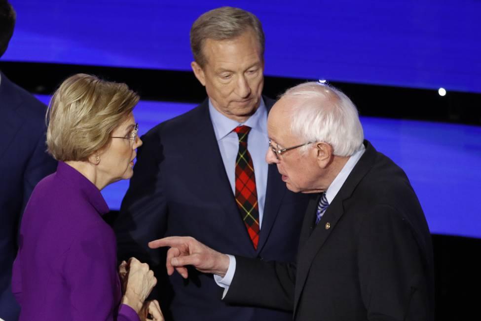 ¿Quién representa a la izquierda en Estados Unidos?