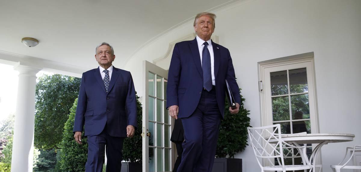 ¿Amigos entrañables, vecinos distantes?  Andrés Manuel López Obrador y Donald Trump