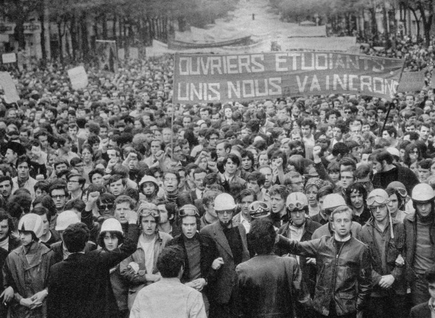 Uno, dos, tres… muchos 68  Hacia una memoria descentrada del Mayo francés