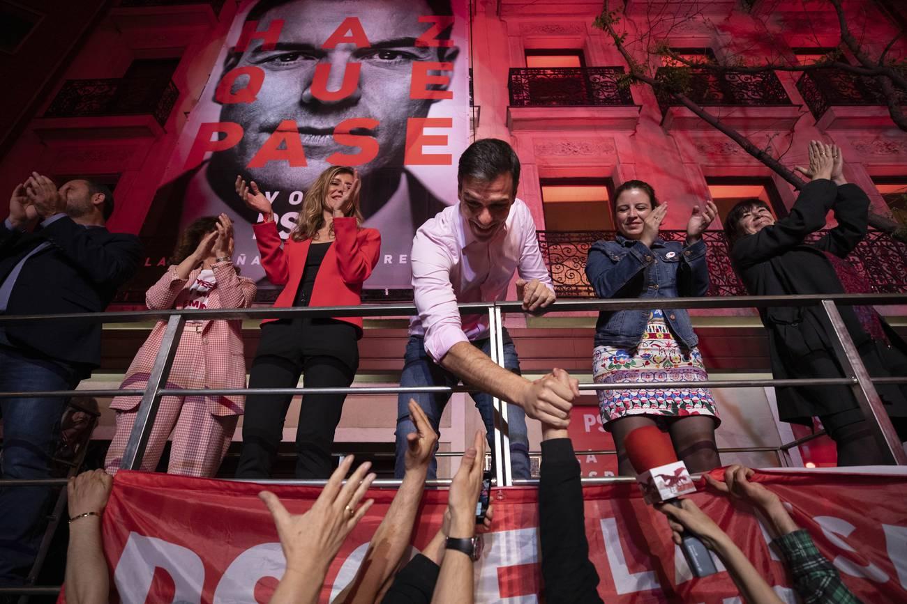 España: la afirmación del eje izquierda-derecha