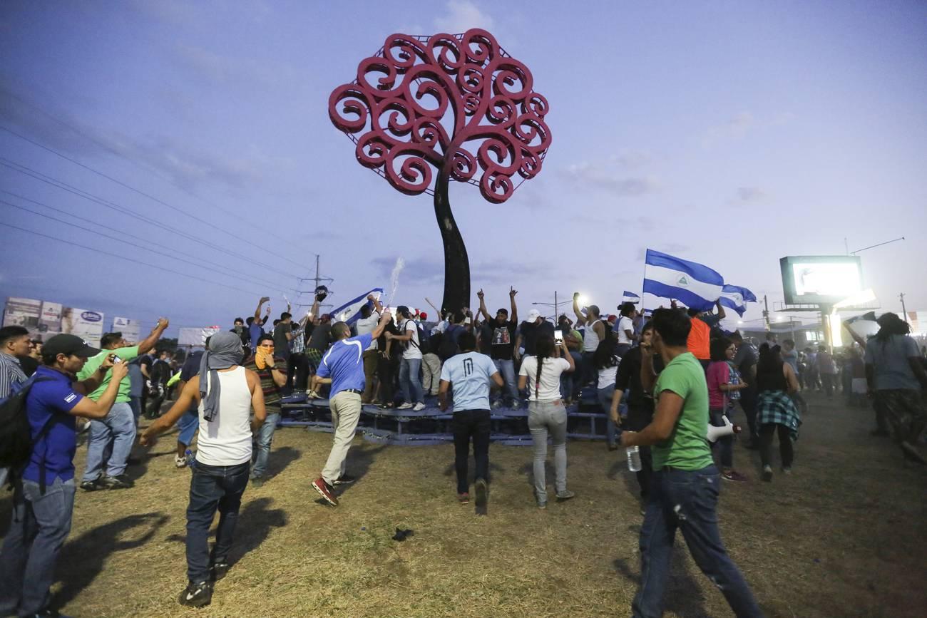 La rebelión del pueblo de Nicaragua