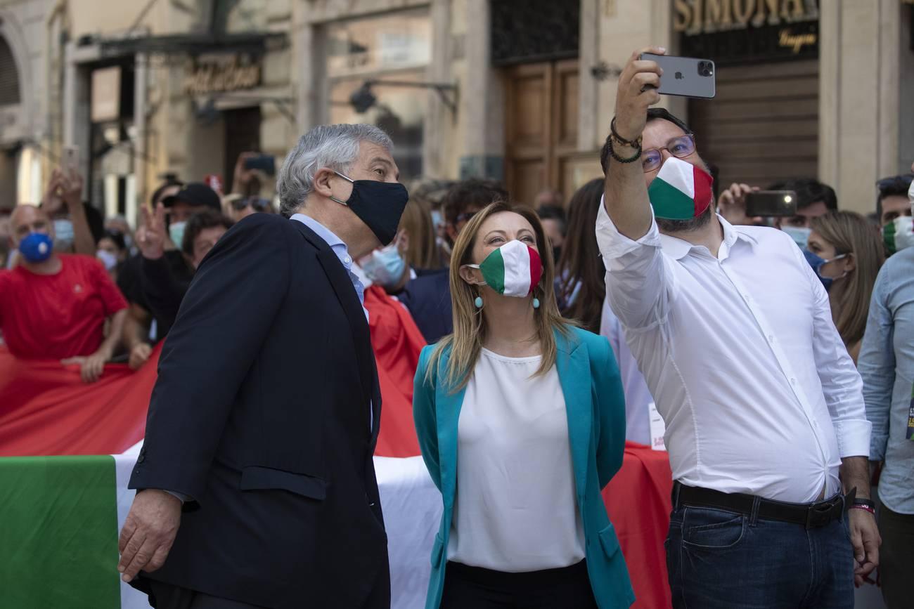 La lucha por la hegemonía en la extrema derecha italiana