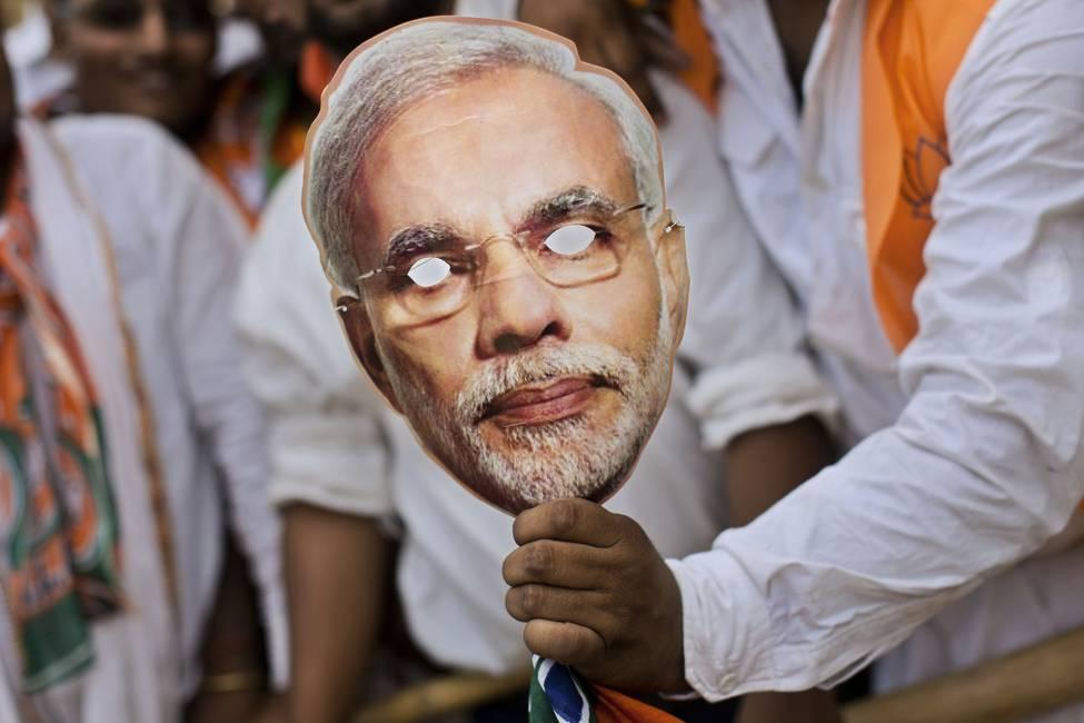 Terapia de shock color azafrán  El nacionalismo hindú divide a la sociedad india