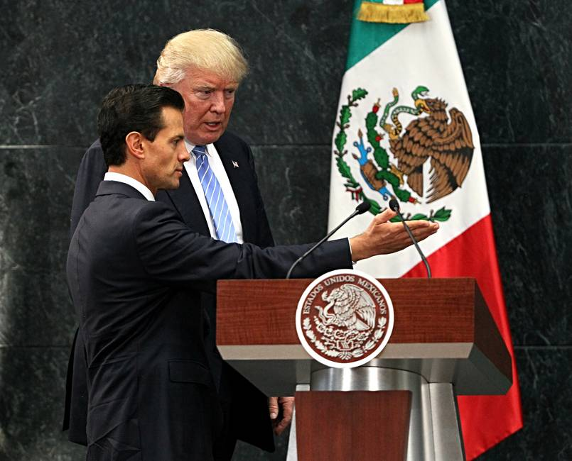 Temores y esperanzas del vecino  ¿Cómo vive México la llegada de Donald Trump a la Casa Blanca?
