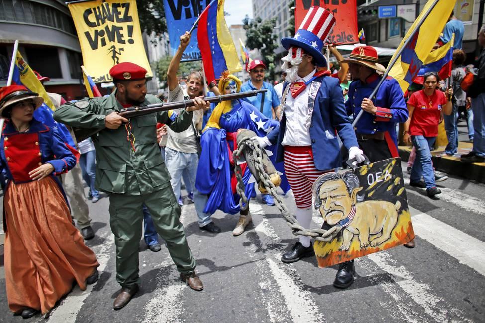 Desconexiones de la izquierda bolivariana