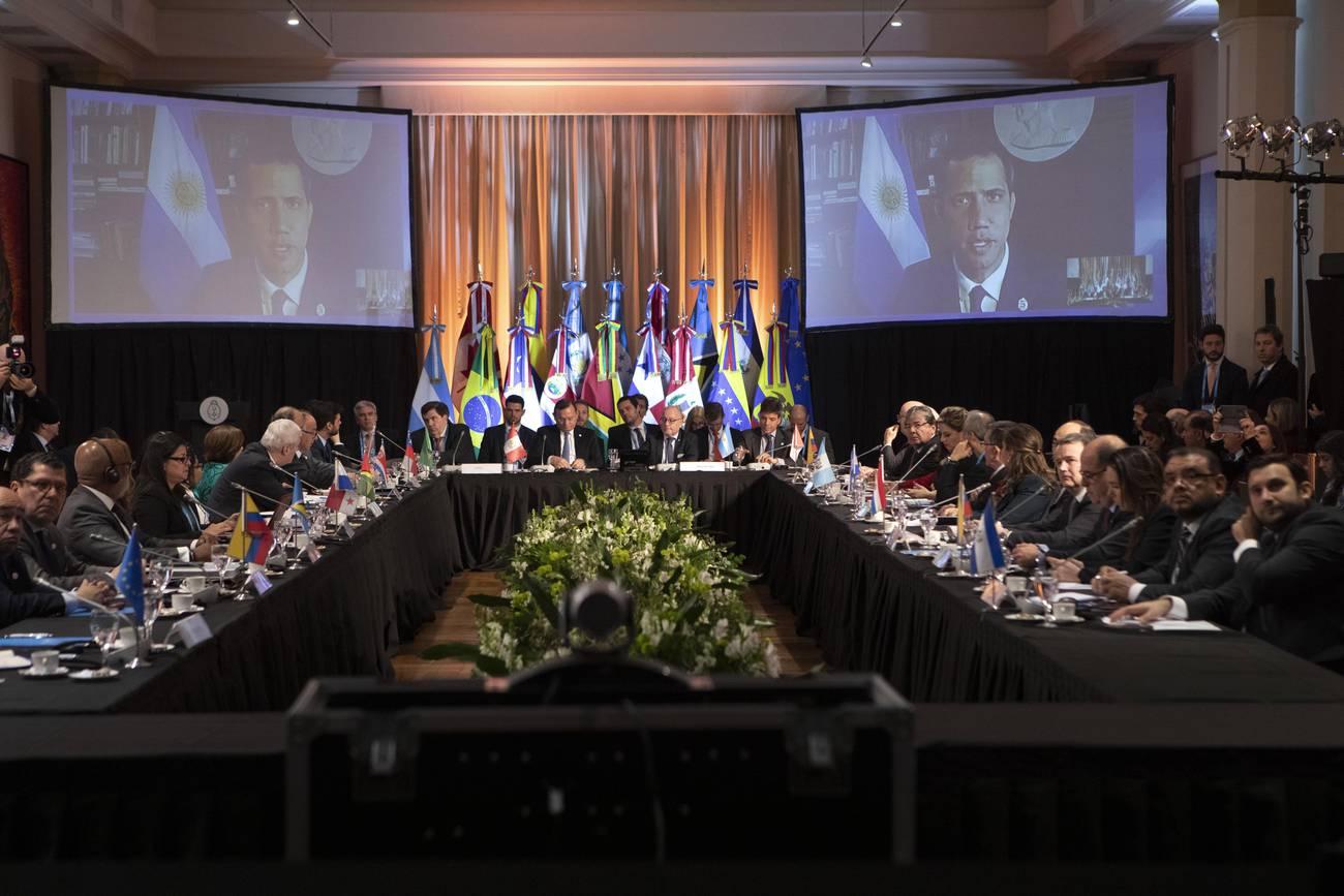 El Grupo de Lima: entre las fallas de origen y la salida de Argentina