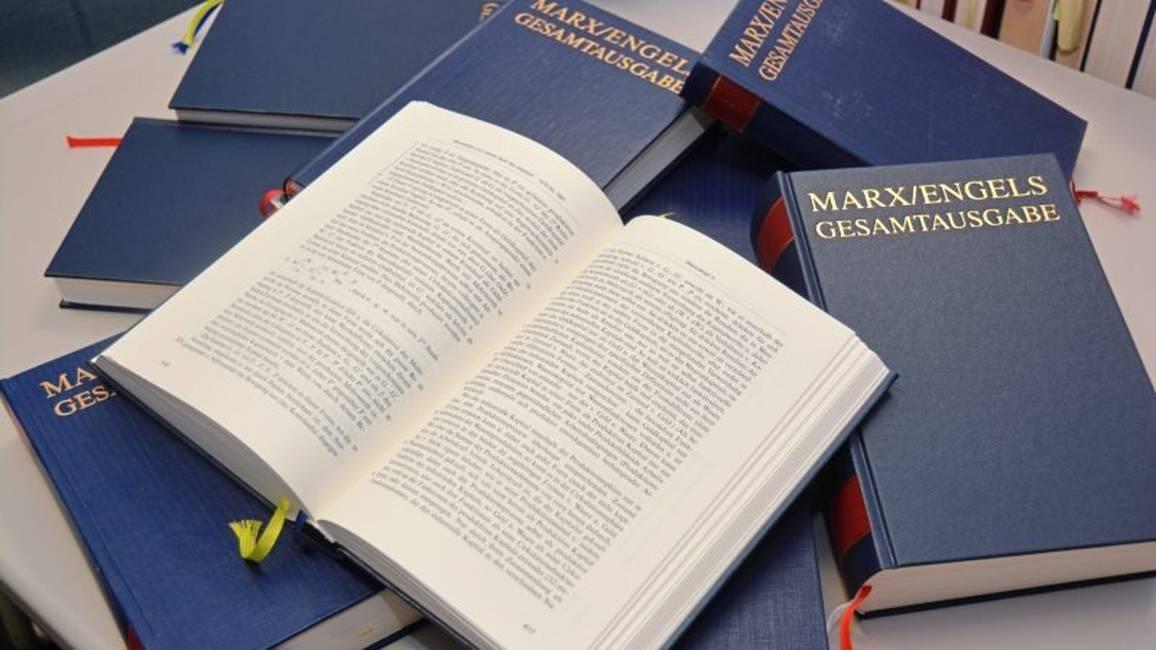 El proyecto MEGA  Peripecias de la edición crítica de las obras de Marx y Engels