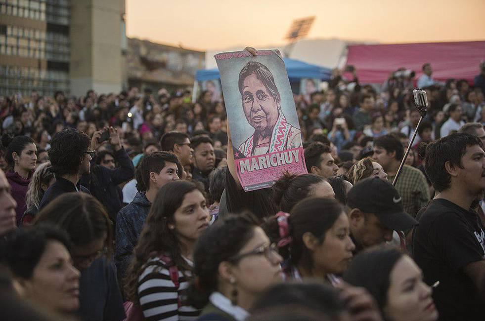 Marichuy, mujer indígena, deja huella en la campaña presidencial mexicana