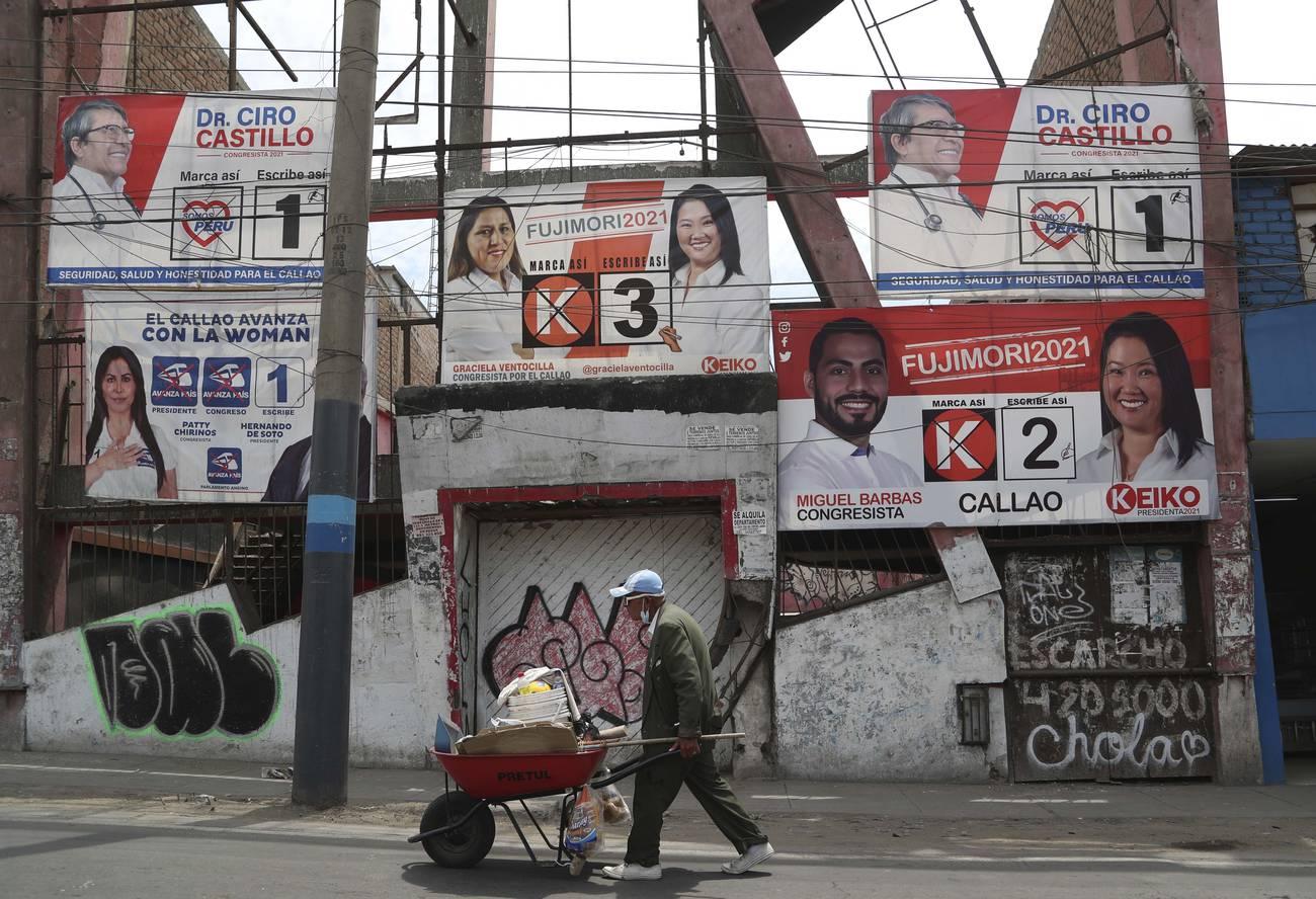 Apatía y fragmentación en las presidenciales peruanas