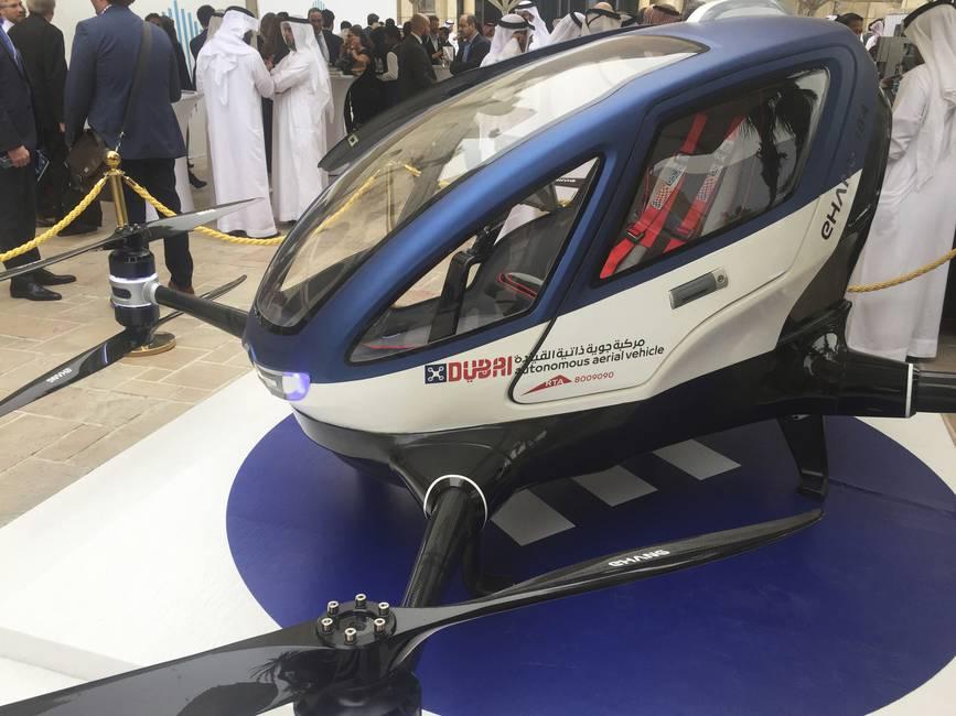 El taxi-dron: innovaciones tecnológicas que repiten la historia