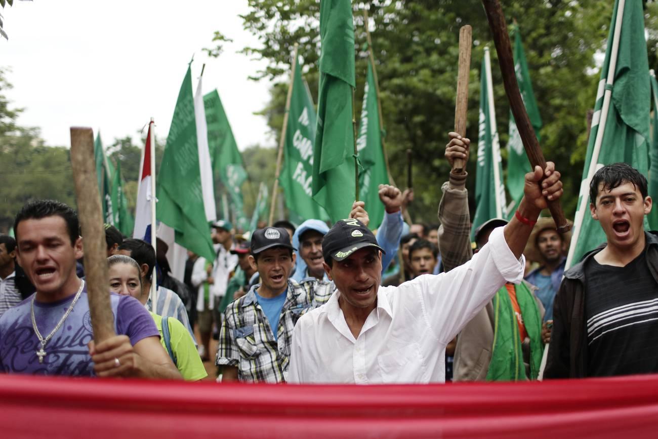La larga marcha de los campesinos paraguayos