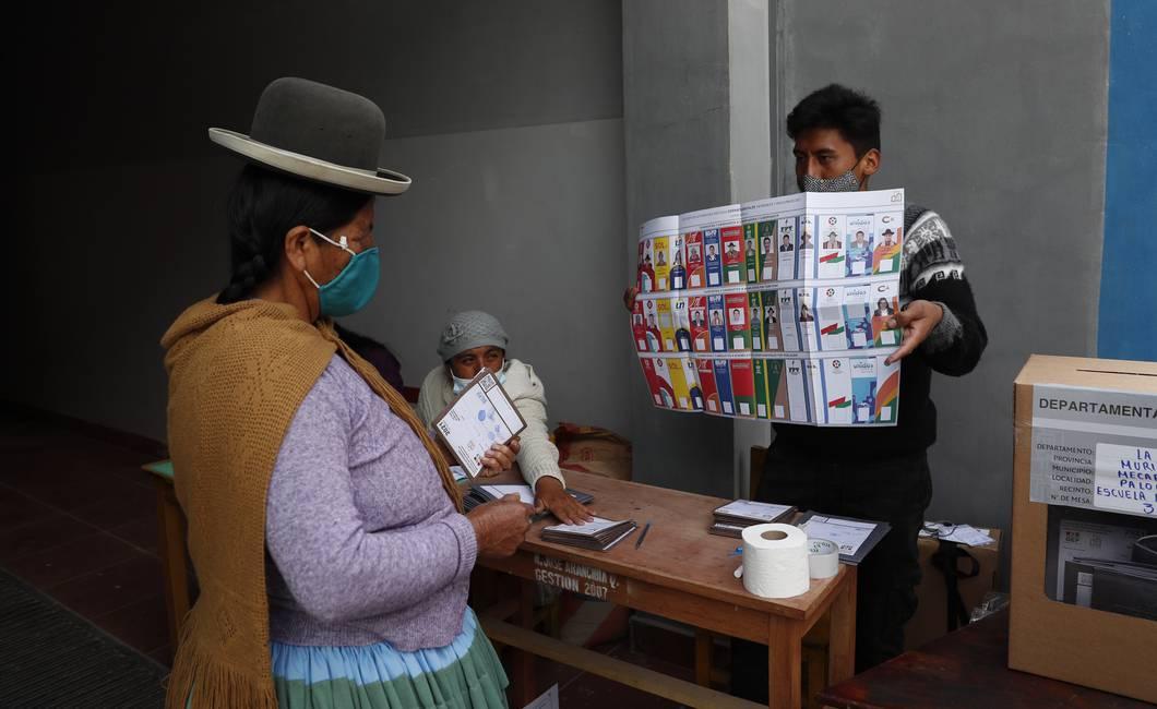 Elecciones regionales en Bolivia  Un mapa para armar