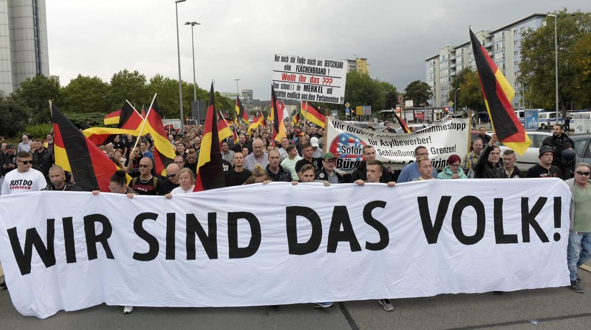 Patriotas indignados, Europa como fantasma