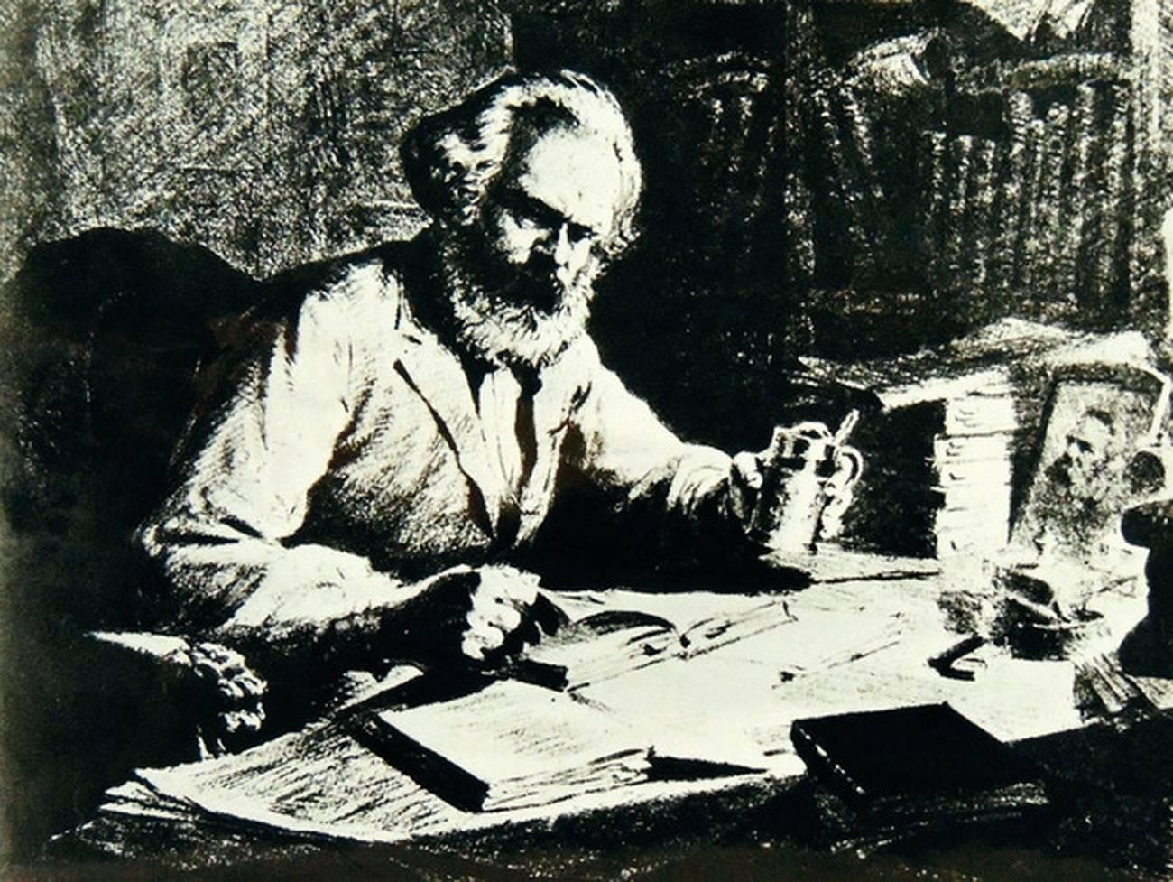Karl Marx como escritor y literato