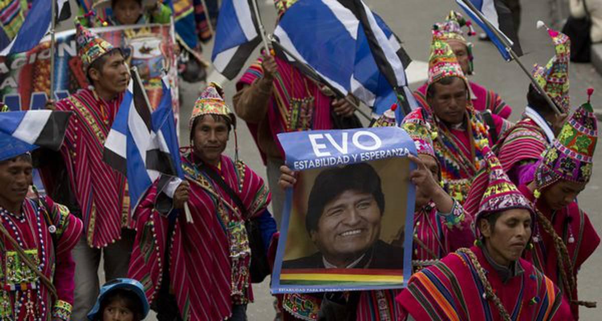 Tendências socioeleitorais na Bolívia do caudilhismo