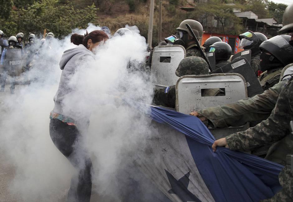 Indignación y crisis política en Honduras