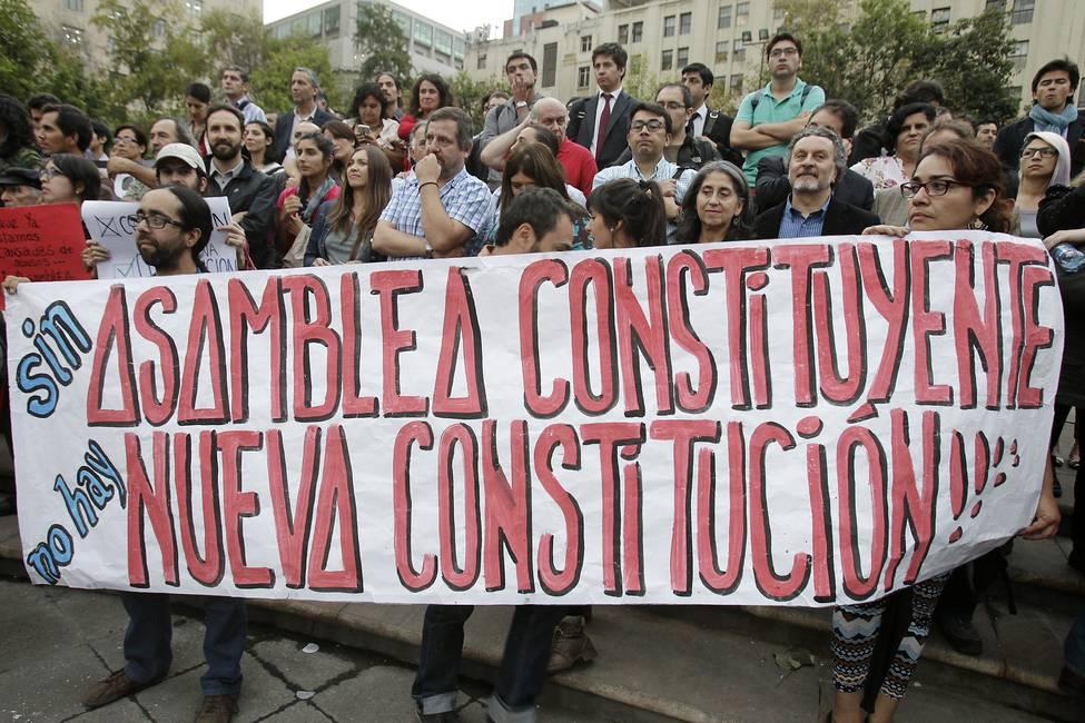 La larga agonía de la constitución pinochetista
