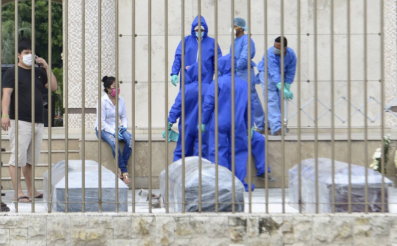 ¿Qué pasa en Ecuador?  Covid-19, crisis sanitaria y conflictividad política