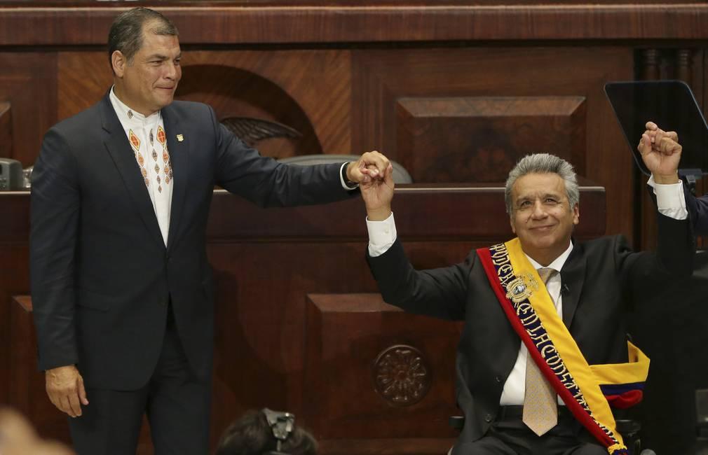 El dilema de una «continuidad con cambios»  Lenin Moreno en sus primeros días
