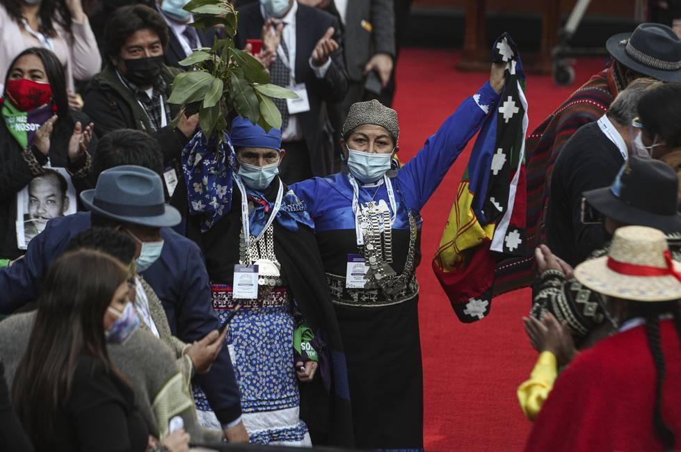 Mujer y mapuche: el nuevo rostro de Chile