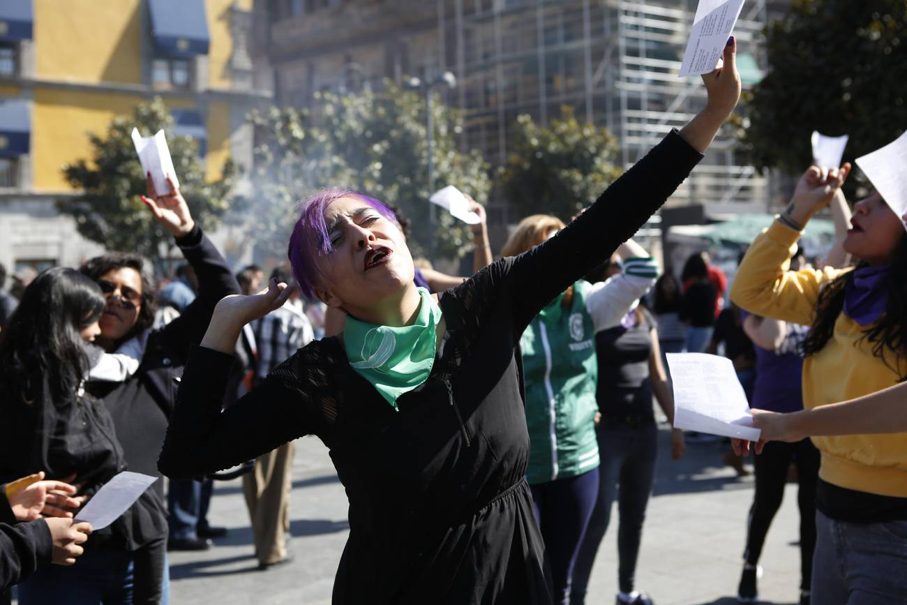 La «marea verde» llega a la Corte Suprema mexicana
